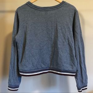 Charlotte Russe Sweaters - Gray Cropped Sweater